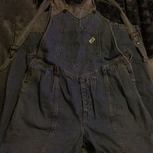 87099ce4495c Vintage guess jean overall size 6